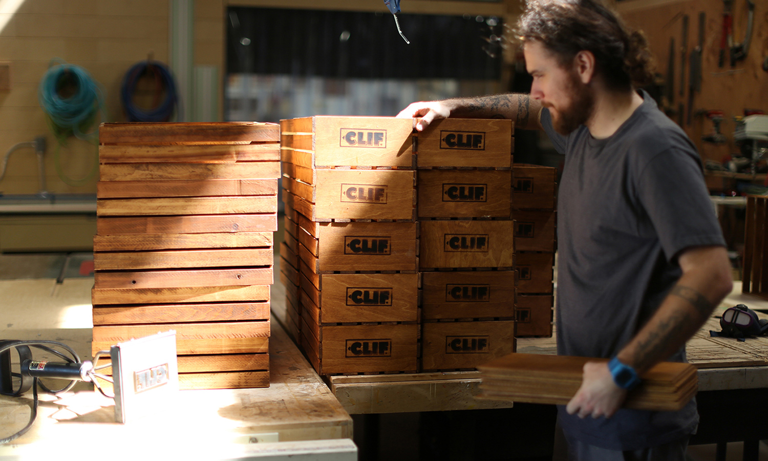Clif Bar boxes made by AoSA Image